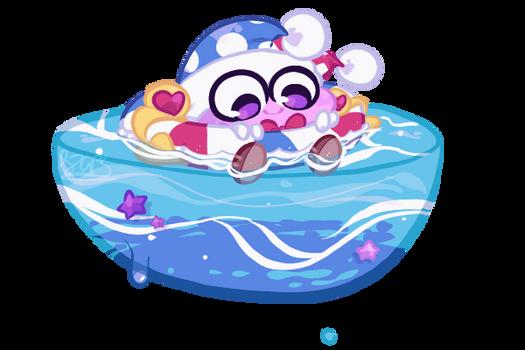 Kirby) A Floatie Clown