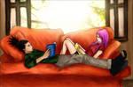 ShikaSaku: Lazy Afternoon