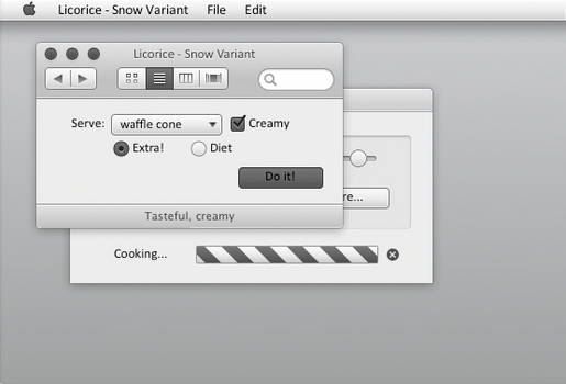 Licorice -  For OS X Lion/Mountain Lion 10.7/10.8
