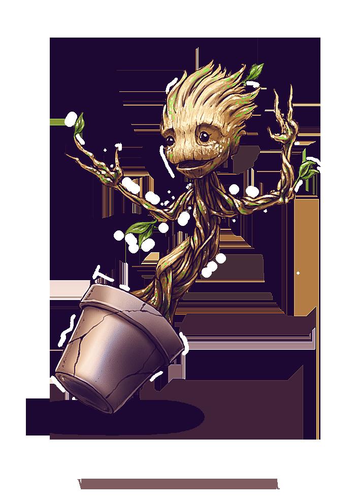 Groot by ZachSmithson