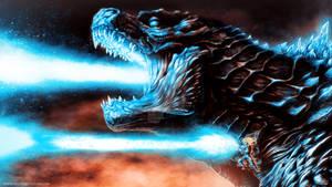 Godzilla x Goku: Atomic Kamehameha