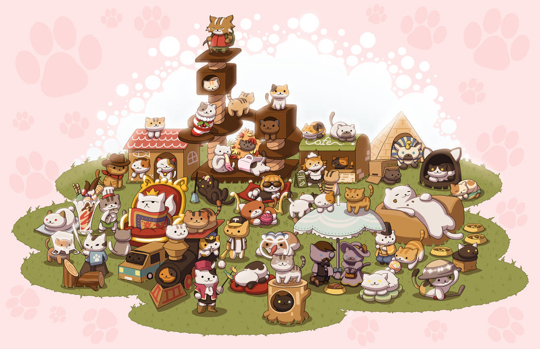 Neko Atsume by ZachSmithson
