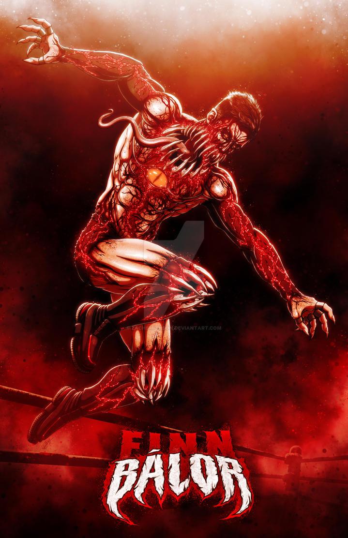 The Demon King: Finn Balor by ZachSmithson