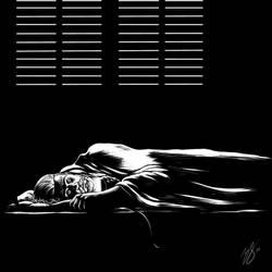 Inktober day 21. Sleep