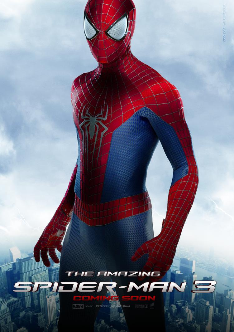 The Amazing Spider-Man 3 Poster #2 by krallbaki on DeviantArt