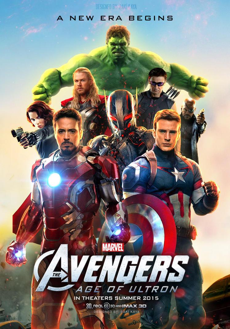 The Avengers: Age of Ultron Poster by krallbaki on DeviantArt