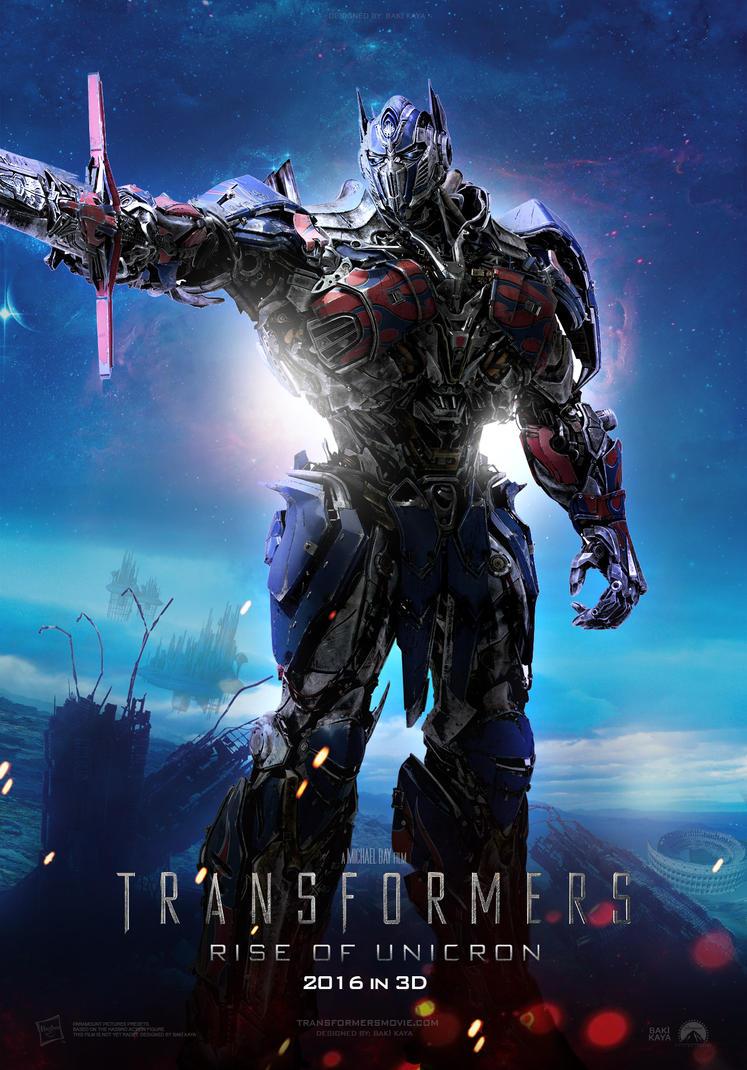 transformers 5: rise of unicron (2016) posterkrallbaki on deviantart