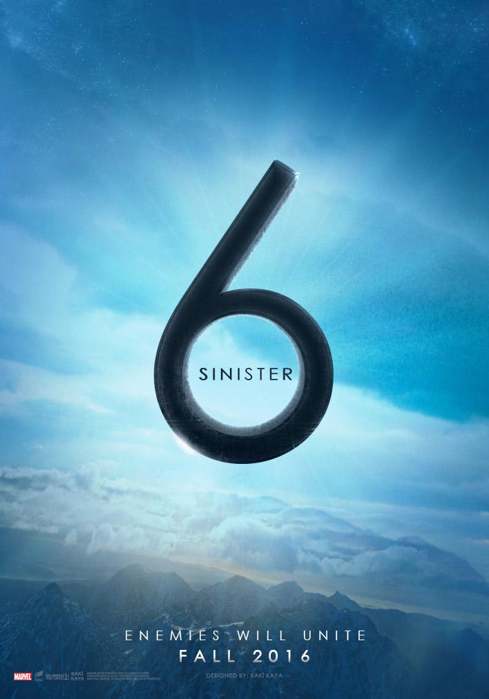Sinister Six (2016) Poster by krallbaki on DeviantArt