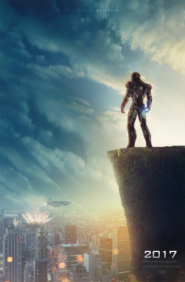 iron man 4 2017 poster by krallbaki on deviantart the most best