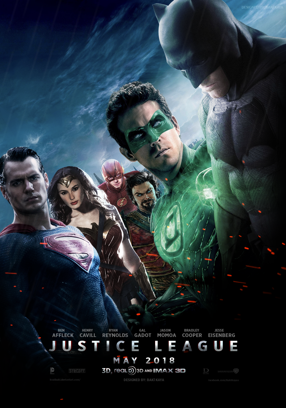 Justice League (2018) Poster by krallbaki on DeviantArt