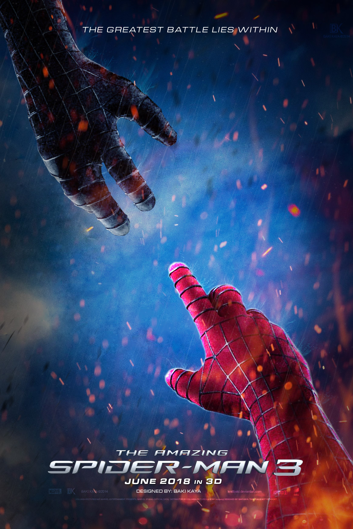 The Amazing Spider Man 3 2018 Poster 5 By Krallbaki On