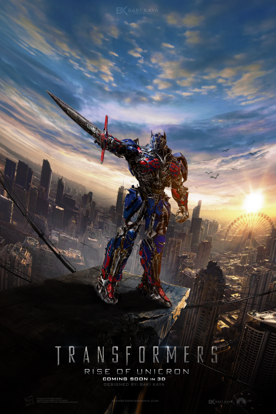 transformers 5 rise of unicron 2016 poster 2 by krallbaki on deviantart. Black Bedroom Furniture Sets. Home Design Ideas