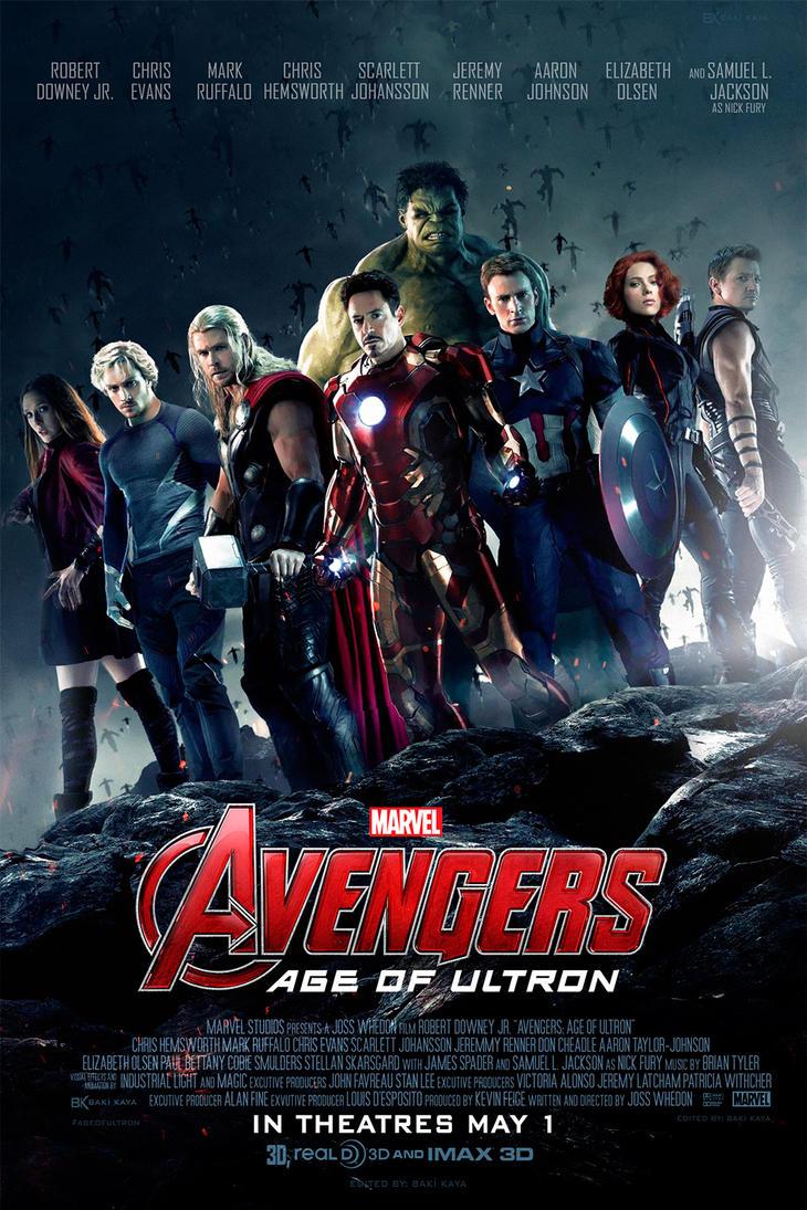 Avengers: Age of Ultron Poster (FM) by krallbaki on DeviantArt