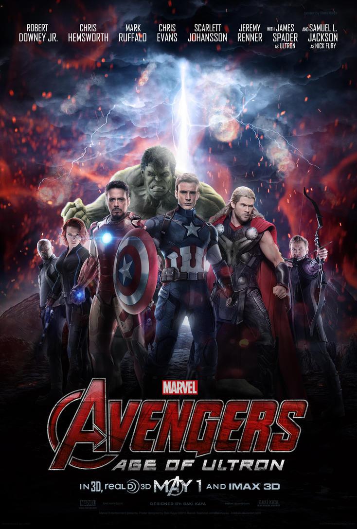 Avengers: Age of Ultron Poster by krallbaki on DeviantArt