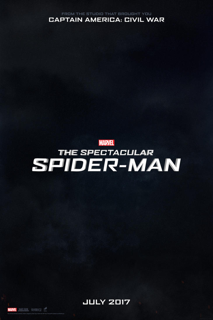The Spectacular Spider-Man (2017) Teaser Poster by ...
