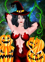 Pumpkin H. Witch by Kokinmefukurou