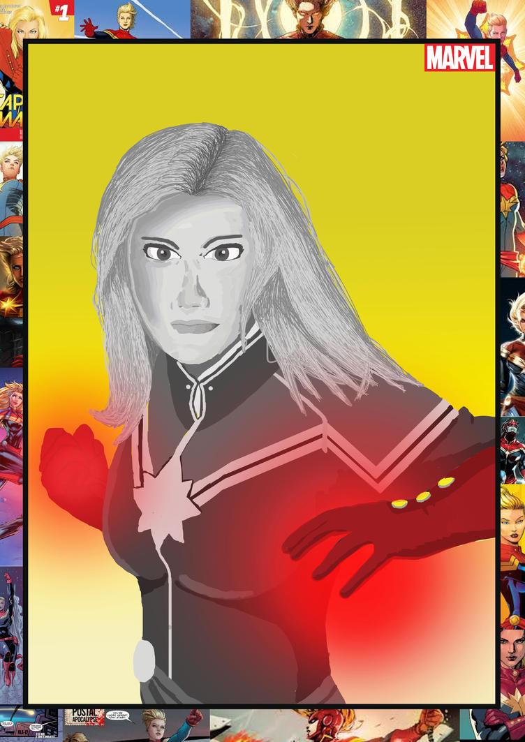 Final Captain Marvel  by ASJX
