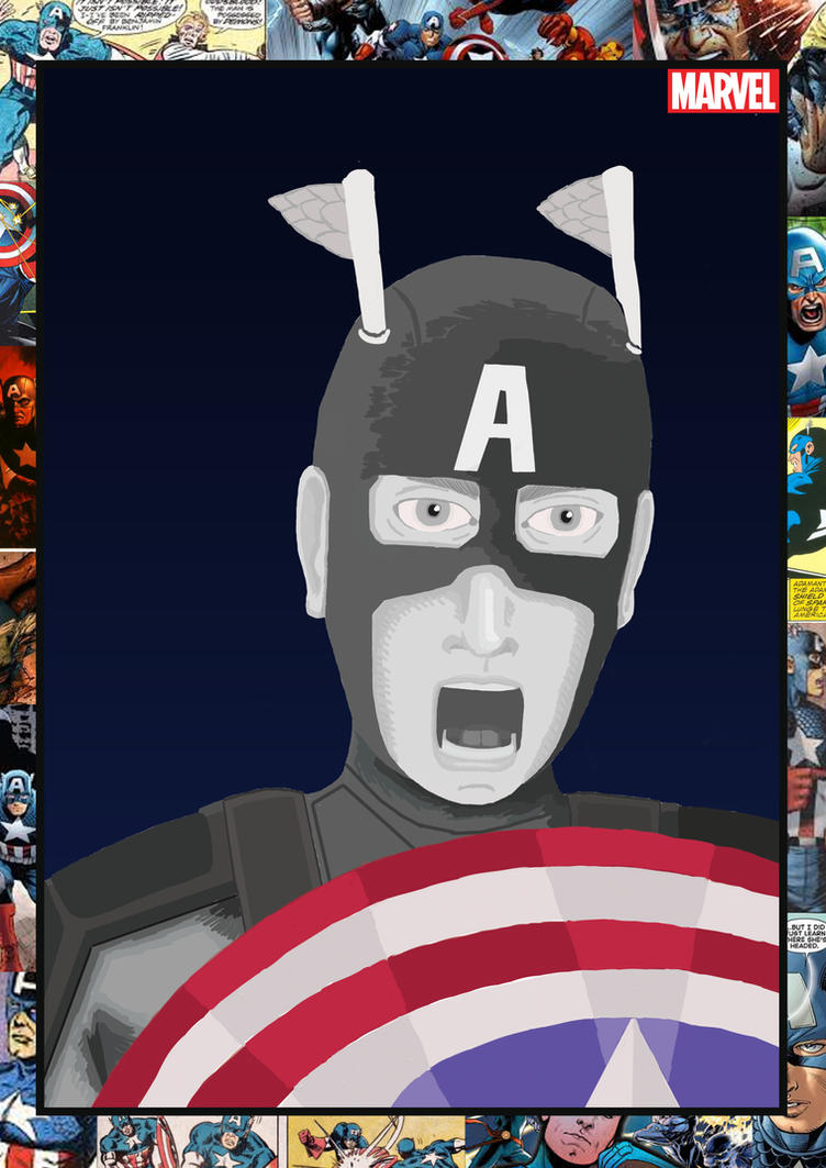 Final Captain America by ASJX