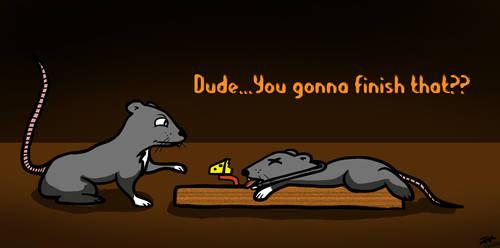 Morbid Mice by JakeMcCormick