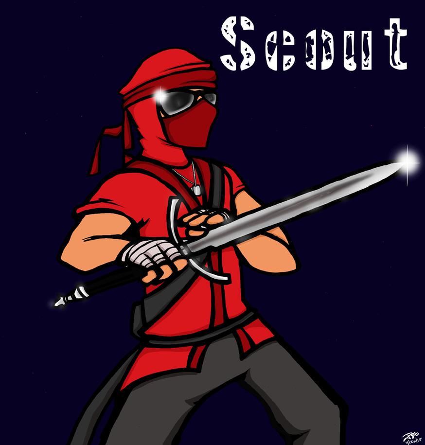 Ninja Scout Teamfortress 2 by JakeMcCormick