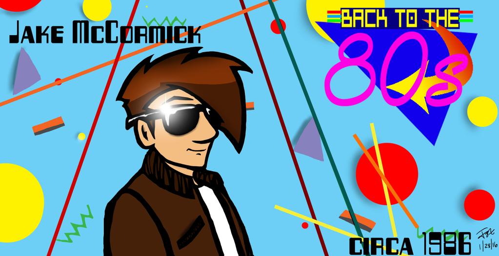 Back to the 80's by JakeMcCormick