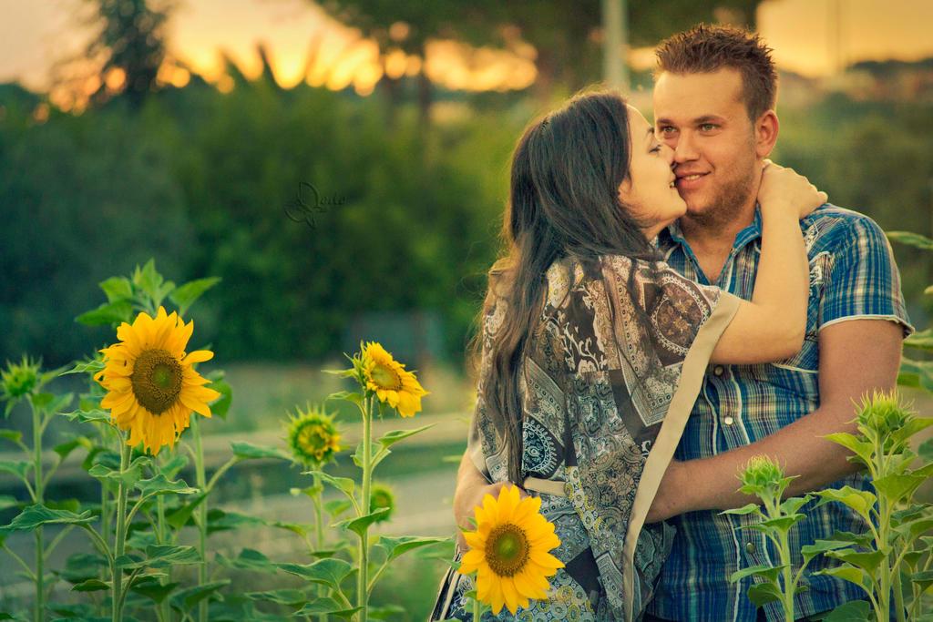 Love sunflowers by Dedina89