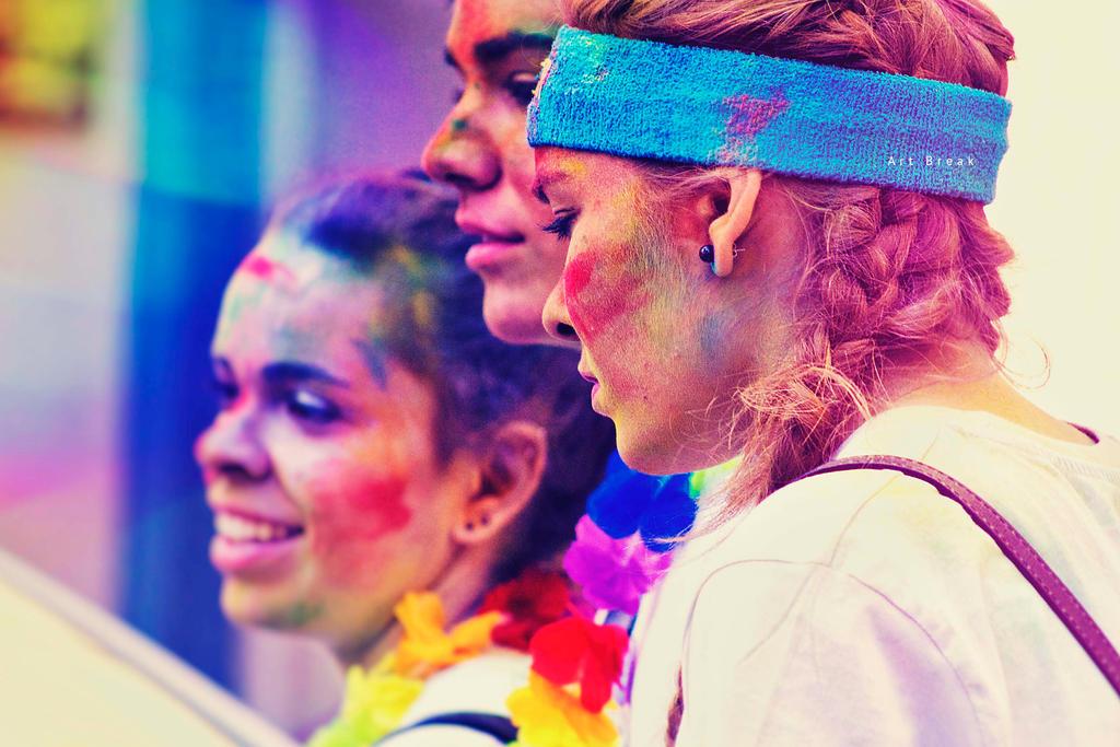 Holi Colour Powders by Dedina89
