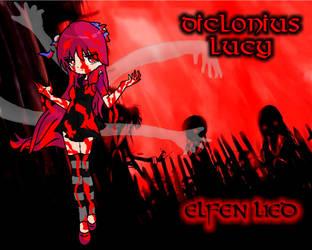 LUCY diclonius  Elfen Lied by FerzyPPGD