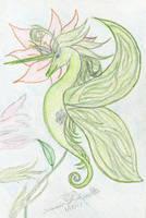 Queen Lacy Seahorse: Gift by AmehanaRainStarDrago