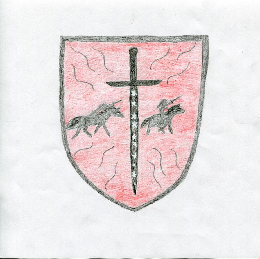 The Children's Dragon Shield by AmehanaRainStarDrago