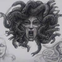 Gorgon Head by ZachHorvath88