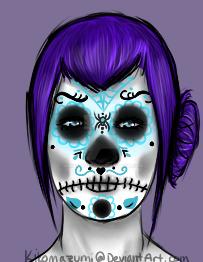 Sugar Skull by Kikomazumi