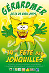 Affiche jonquilles 2nd style