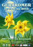 Affiche Jonquilles 2013 - 1re proposition