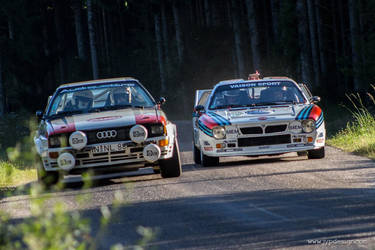 Audi Quattro VS Lancia 037