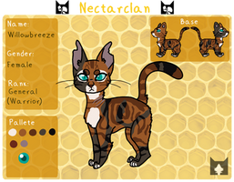 Willowbreeze // Nectarclan's Lead Warrior by Heart-Anonimous