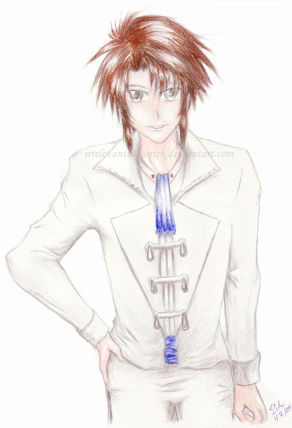 Ayumu-kun for Imprisoned-fire by IrrelevantMaverick
