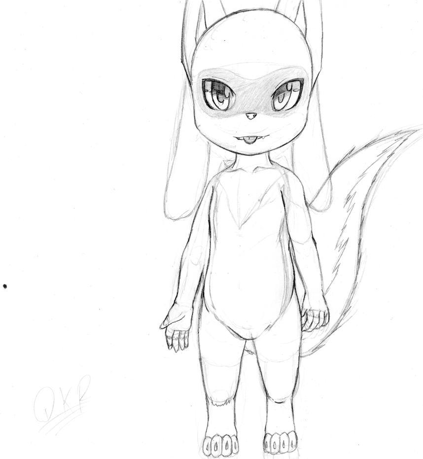 nuevo personaje/new character by gohannieto