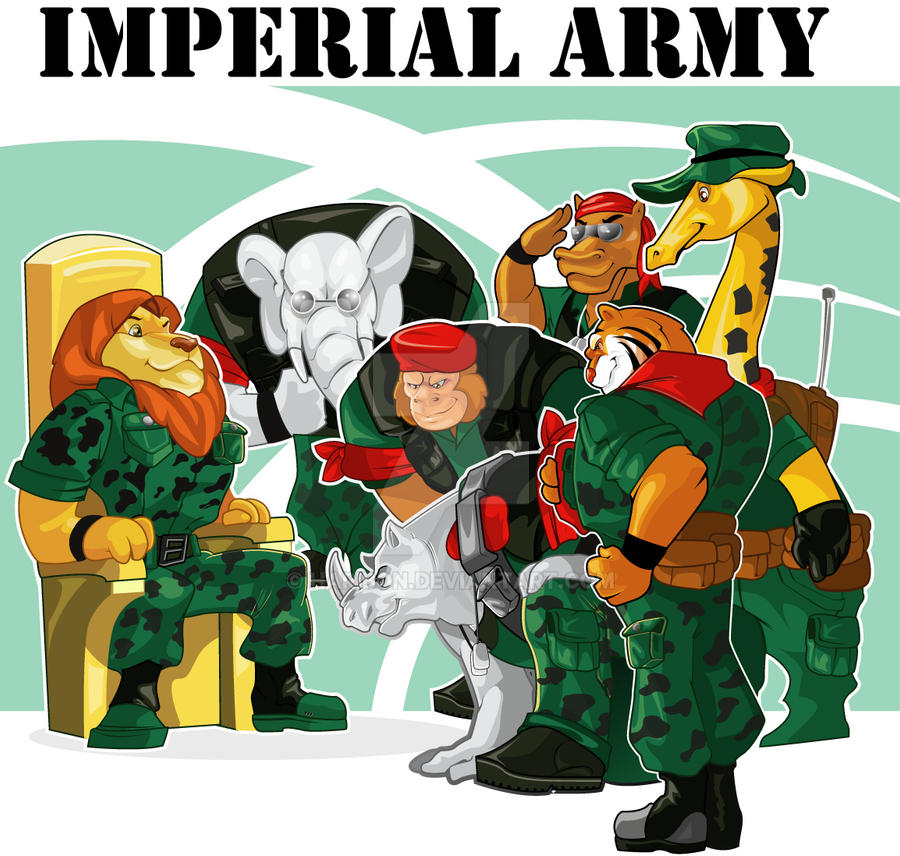 Imperial Army Group By Haribon On Deviantart