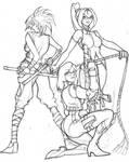 3 ladies by haribon