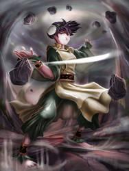 The Blind Bandit by haribon