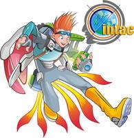 mascot  and logo by haribon