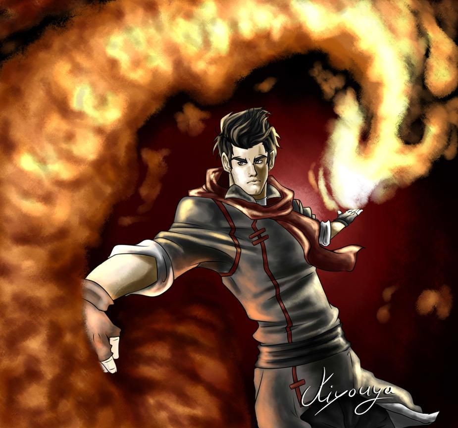 As hot as a Firebender by Kiyouya