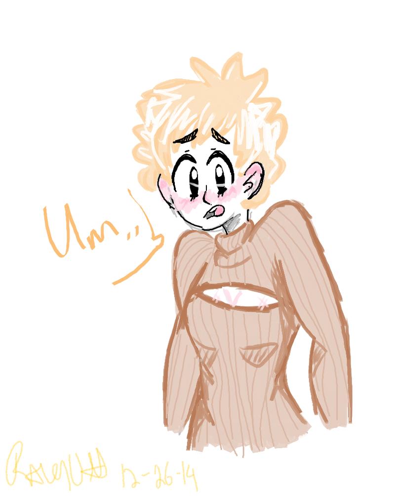 Boob Sweater by theawesomeKITTY