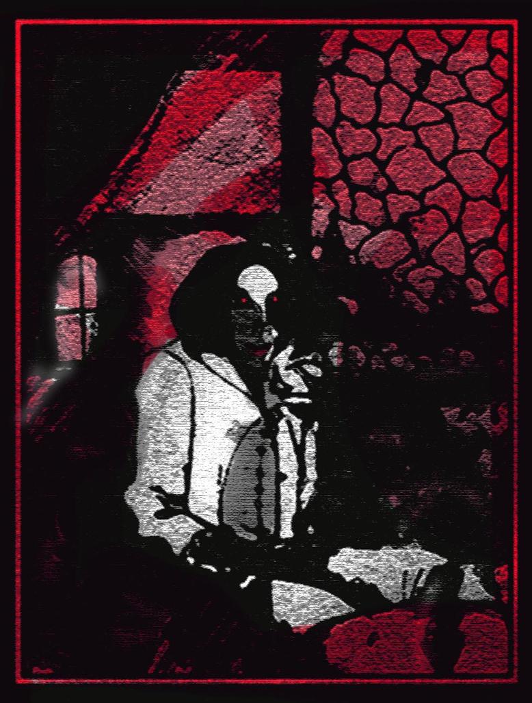 Vampire In Repose by kirbykalibak