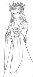 Hobbit: Fatherhood by alswaiter