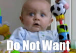 Do not want baby