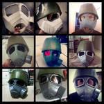 NCR Helmet Progress