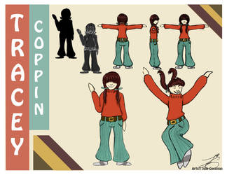 Homework -Tracey Coppin Character Concept by Julie947