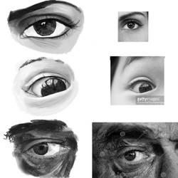 Homework - Eye Study by Julie947